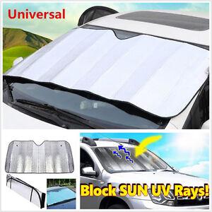 Car Windshield Sun Cover Cover Protector Foldable Sun Shade Reflector Anti-UV