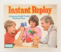 Instant Replay Game by Parker - Vintage Retro 1987 - Complete & VGC - Free P&P