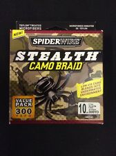 Spiderwire Stealth Camo Braid - 10lb 300yards