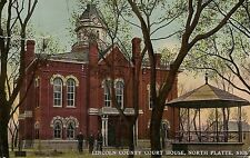 Lincoln County Court House North Platte NE Postcard