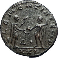 PROBUS w Jupiter Authentic Ancient Original 276AD Antioch Roman Coin i67101