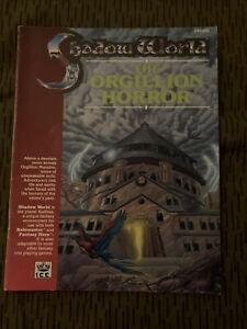 "Shadow World - ""The Orgillion Horror"" - ICE - Stock #6006 Rolemaster RPG"