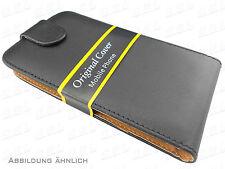 HTC One X (10) - Flip Style Tasche Hülle - TPU Case schwarz
