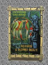 WDI Stitch Pin Presents ''Aloha E Komo Mai'' Attraction Poster - DISNEY - LE 300