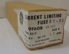 General Electric GE 9F60BBD003 CURRENT LIMITING FUSE 5.50KV NIB