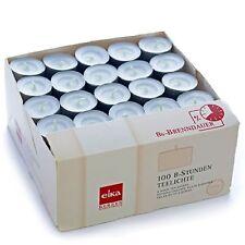 Eika Teelichter - 8 Std. Brenndauer, 100er Pack