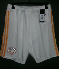 Adidas Adizero Houston Dynamo Authentic Short, White/Orange, Size M