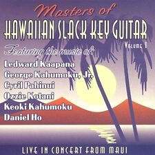 Masters of Hawaiian Slack Key Guitar - Volume 1