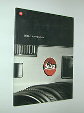 LEITZ LEICA catalogue 133 p photographie photo argentique