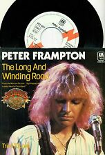 """PETER FRAMPTON - The Long and Winding Road / Tried To Love 7 """" Promo Single"""