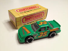Matchbox 1990 Chevy Lumina Nascar with Original Box Diecast 1:64 Scale