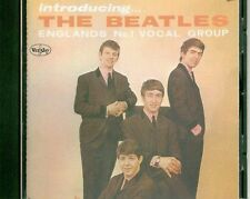 Inroducing The Beatles CD in Mono w Rare Ad Back $9.99 Spring Slam Sale