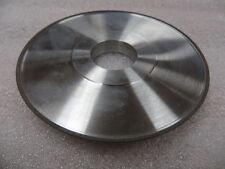 "5"" x 1/2"" x 1-1/4"" 4A2P Diamond Facing Grinding Wheel 180 Grit 100 Con. New USA"