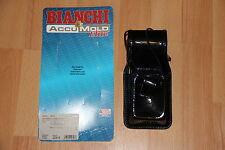 Bianchi Radio Holster Universal Funkgerätetasche Leder Motorola Saber etc.