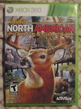 Xbox 360 Cabela's North American Adventures (Manual, box and game)