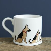 Sweet William GERMAN SHEPHERD Mug | Great Gift for Alsatian Dog Lovers | FREEP&P