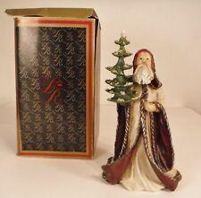 Duncan Royale History Santa Kris Kringle Hand Carved Wood Signed 1st Ed 218/500