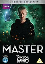 DOCTOR  WHO - THE MASTER - Terror of the Autons & The End of Time SEALED Dr Who