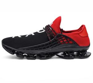 Antiskid Blade Running Shoes Damping Cool Outsole Walking Trekking For Men