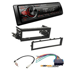 Pioneer MVH-S21BT Receiver for 1999-2002 SILVERADO CAR STEREO DASH INSTALL KIT