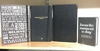 Lot: 4 Inspirational Journals and Productivity Planners VERY GOOD condition