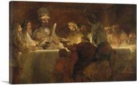 Conspiracy Batavians Under Claudius Civilis Canvas Art Print Rembrandt van Rijn