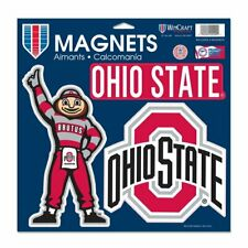 Ohio State Buckeyes Large Magnet Set 3 Pack Car Truck Auto FAST SHIPPING
