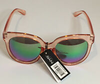 NYS COLLECTION SUNGLASSES STYLE 4650 Virginia Place Rose Frame Polarized