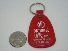 Vintage Mobile Lifts Inc Collegeville PA Advertising Keychain