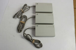 COMPAQ 129827-001 LTE AC ADAPTER SERIES 2812 AS-IS FOR PARTS/REPAIR LOT OF 3