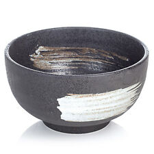 Kurokessho Japanese Ceramic Ramen Bowl