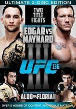 UFC 136 Edgar vs Maynard 3 (DVD, 2011, 2 Disc Set) Region 4 brand new!