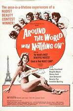 AROUND THE WORLD WITH NOTHING ON Movie POSTER 27x40