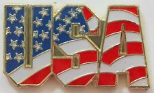 USA Flag Pin Stars and Stripes American Lapel Hat Tie Tack Patriotic