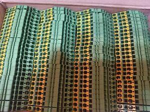 182* Weidmüller Reihenklemmen ZPE 2,5-2/3AN in 1,75 Kartons neu