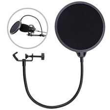 Recording Studio Microphone Pop Filter Mic Wind Screen Mask Shield Double L