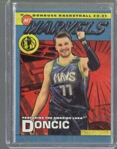 2020/21 Panini Donruss Net Marvels Luka Doncic #18