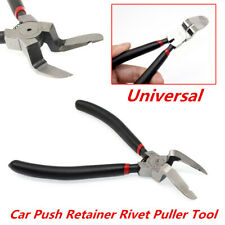 Car Push Retainer Rivet Fastener Clips Panel Assortments Puller Pry & Cut Plier