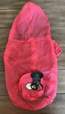 UV Resistant & Waterproof Travel Dog Poncho - XL Pink - Breathable - PetLife NWT