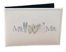 Mr & Mrs Wedding Photo Album Slip In Brag Book wedding gift present