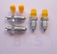 BRAKE CALIPER BLEED NIPPLE SCREWS ROVER MGF MG TF /& MG ZT 1995-2009 NIP1015AJ