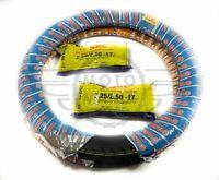 Tyres Tire x2 Pair Front Rear 2.25 2.50 x 17 Honda Cub C50 C70 C90