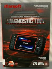 iCarsoft CR Elite Universal Diagnostic Scanner ABS SRS Oil reset EPB INJ BLD