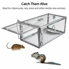 Animal Catcher Large Live Humane Cage Trap Fit Squirrel Chipmunk Rat Mice Rodent