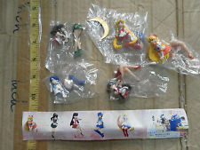 Bandai sailor moon sailormoon desktop mini figure gashapon x5 Mercury jupitar