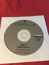 FORD LINCOLN OEM NAVIGATION DISC CD 2L7T-18C912-FA OHIO VALLEY MAP # 6