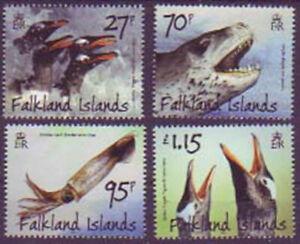 Falklandinseln, 1152/55 Prädatoren und Beutetiere, Pinguine (1788)