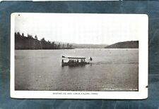 Coeur D'Alene,ID-EARLY LAKE EXCURSION BOAT-circa 1904 UB PC
