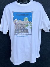 Rare Vtg 1985 GRATEFUL DEAD Men's Size XL White T Shirt Club Dead Strange Winds