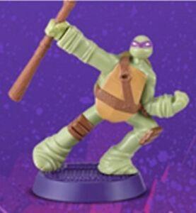 2012 Comic Con Teenage Mutant Ninja Turtles Donatello  4.5 inch tall mint..